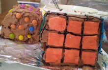 Rubik's Cubes Cakes