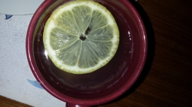 ginger & lemon hot drink