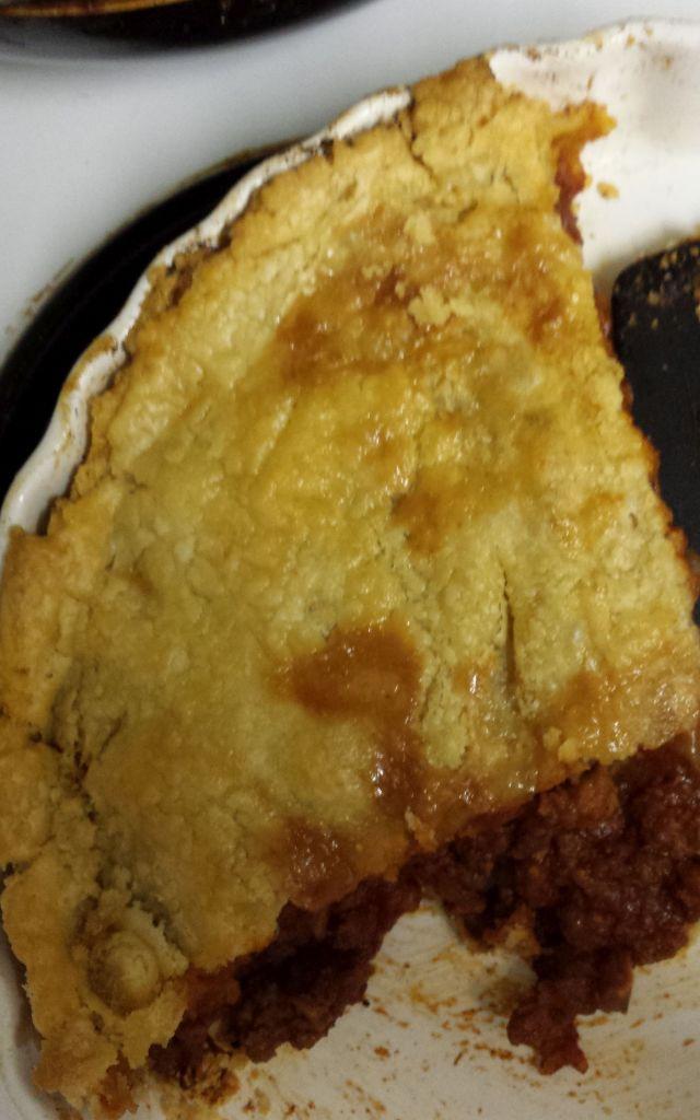 GF meat pie