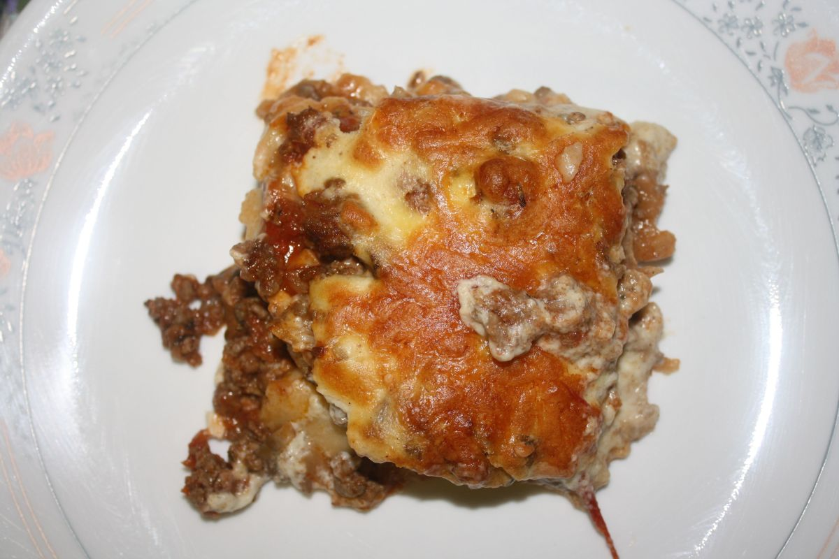 Gluten free and Dairy Free Lasagna
