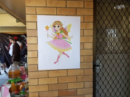 Pin the wand on the fairy.