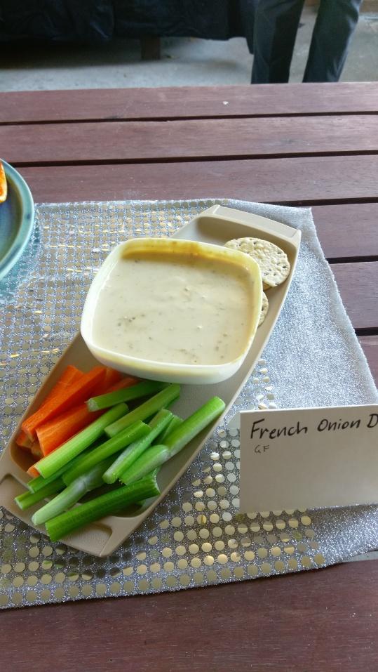 GF French Onion Dip