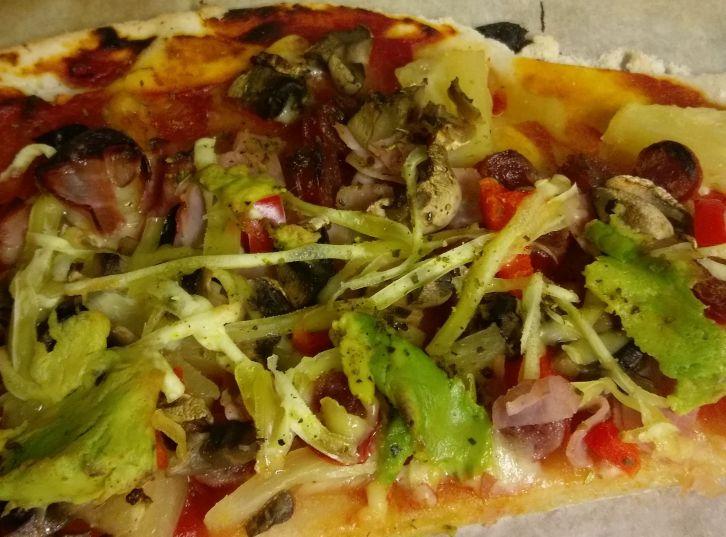 GF & DF Yogurt dough pizza