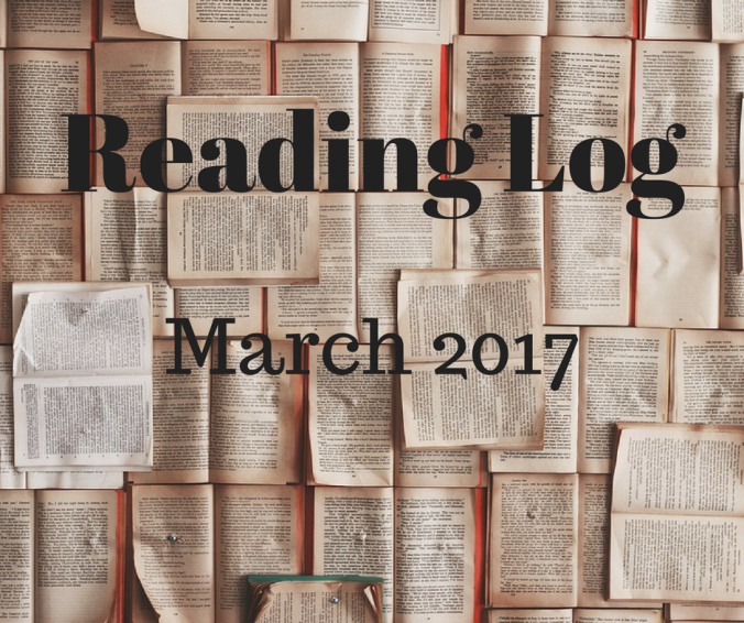 Reading Log March