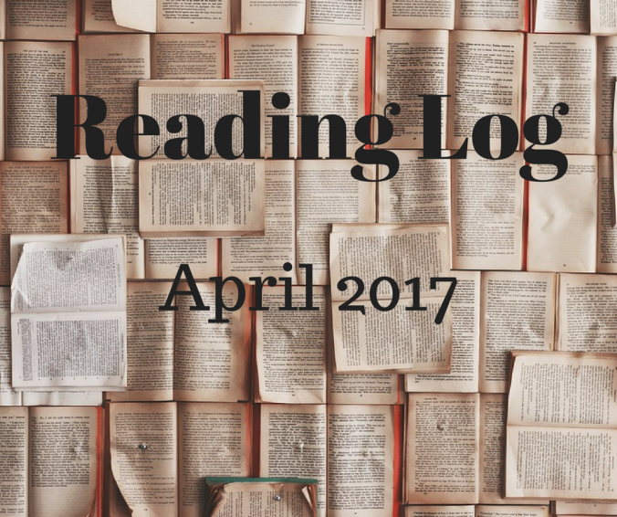 Reading Log April