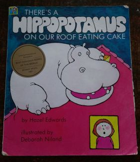 There's a Hippopotamus on the Roof Eating Cake