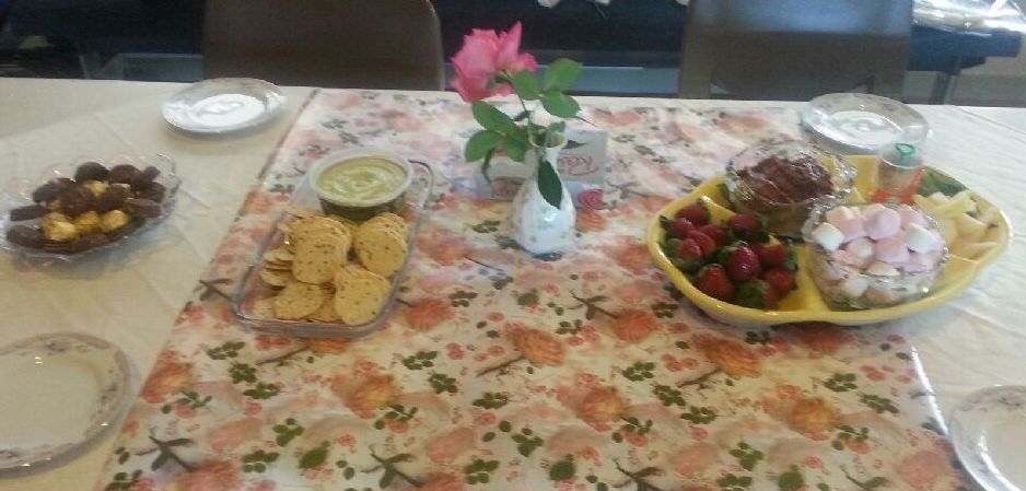 Mother's Day morning tea