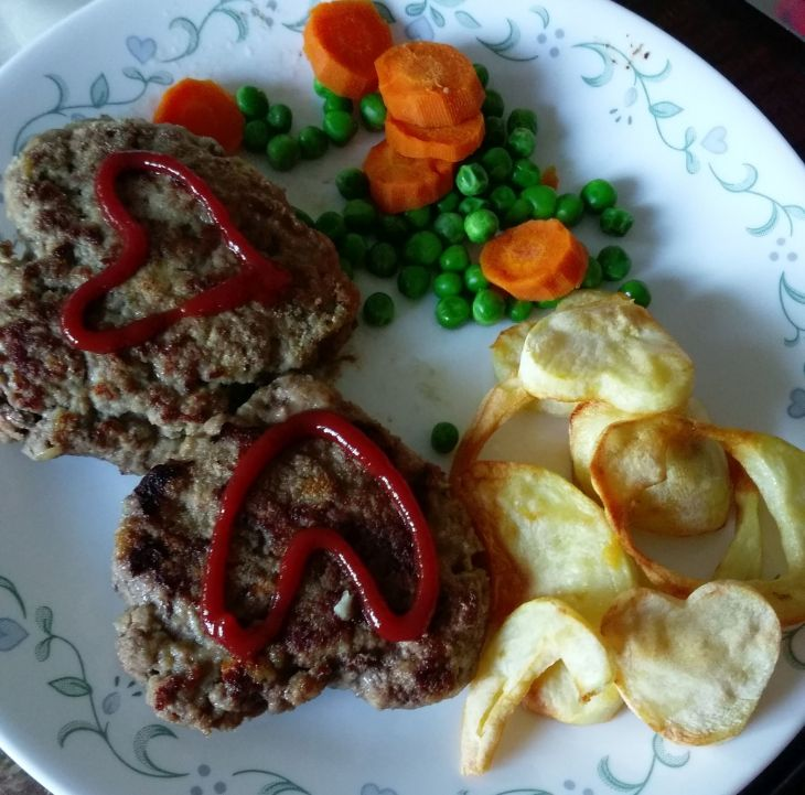 Full heart meal