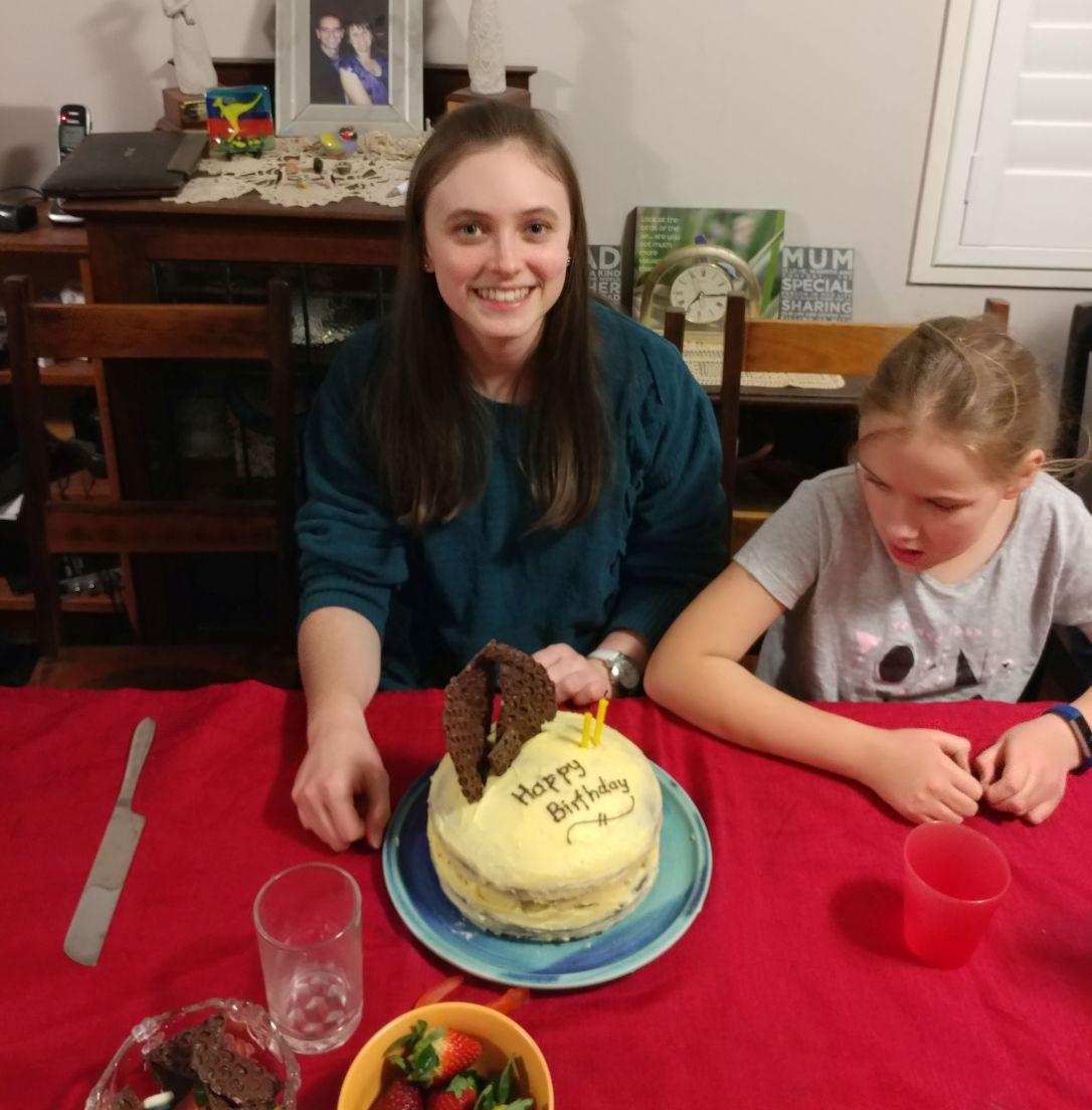 Gluten free birthday celebration