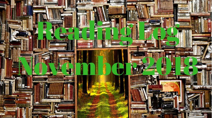 Reading Log November 2018